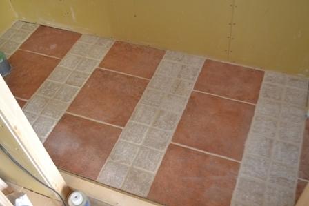 トイレ床 かわいいタイル