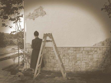 ナチュラル お家 壁画