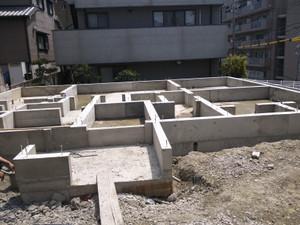 ナチュラルハウス 基礎工事