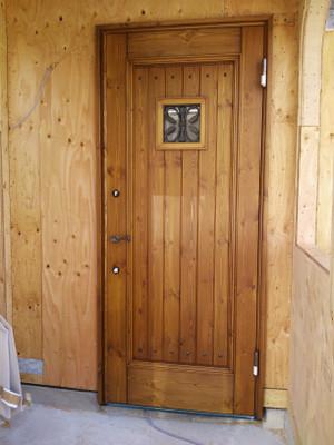 無垢 玄関扉
